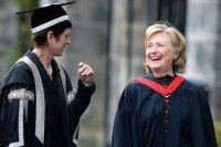 Hillary Clinton Receives Honorary Degree At St Andrews University