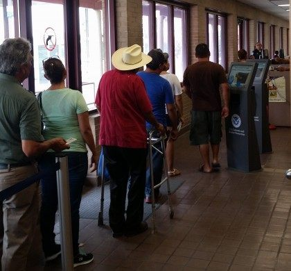 Thousands of tourists cross into the U.S. each day using border crossing cards similar to the ones stolen this month.