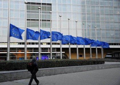 EU flags at half mast to honour Nelson Mandela