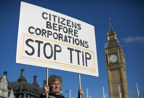 BRITAIN-EU-US-TRADE-TTIP-DEMO
