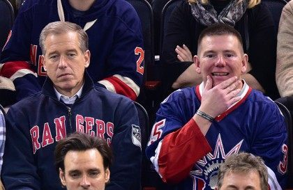Celebrities Attend Montreal Canadiens Vs New York Rangers Game - January 29, 2015
