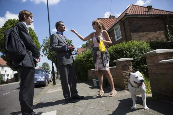 Conservative MEP Syed Kamall Canvasses Ahead Of The European Elections