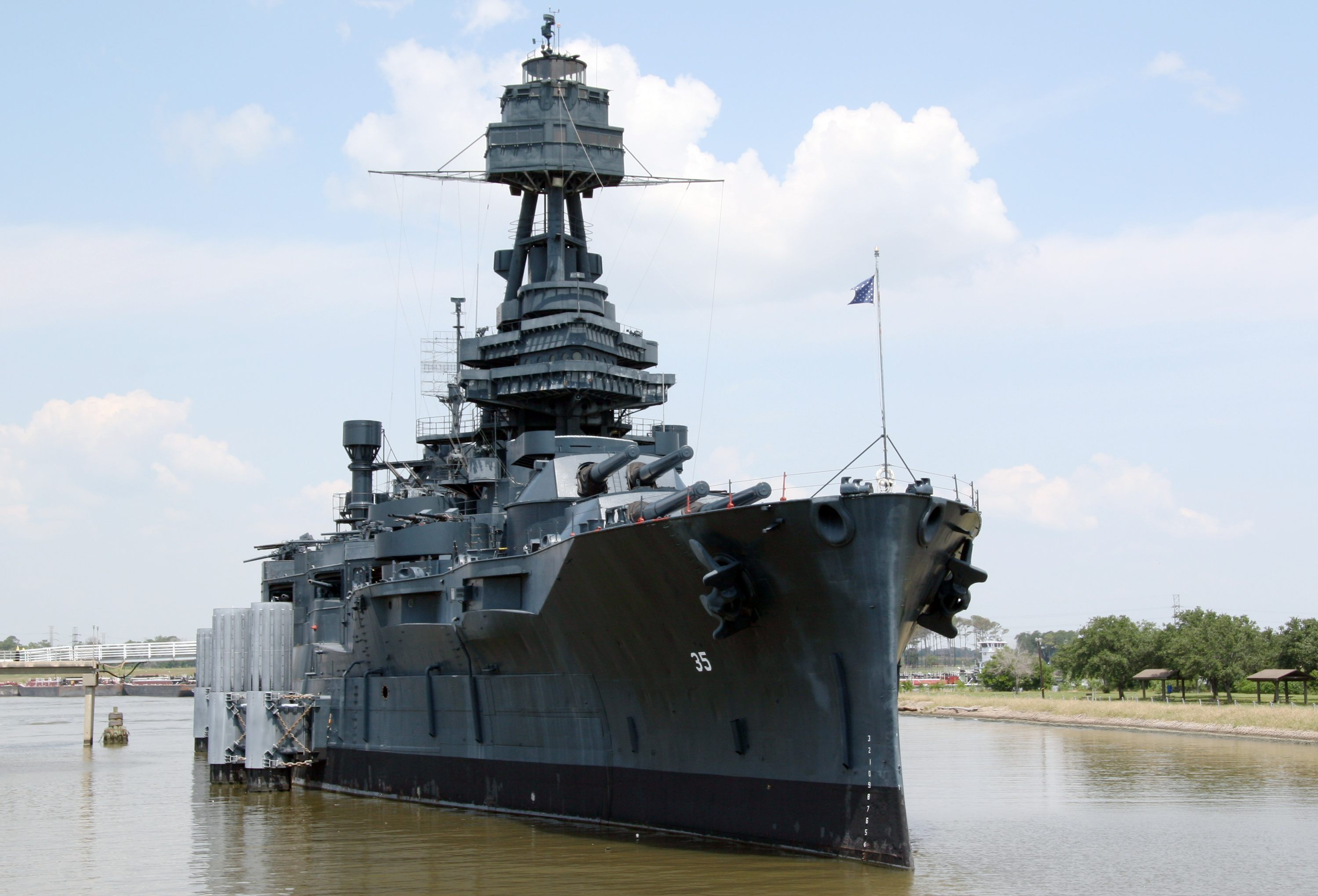 State Budget Includes $25M to Preserve the Battleship Texas