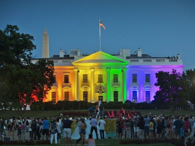 Gay Marriage White House Lit