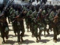 Al-Shabaab militants training