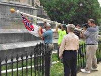 Alabama takes down Confederate flag Martin SwantAP
