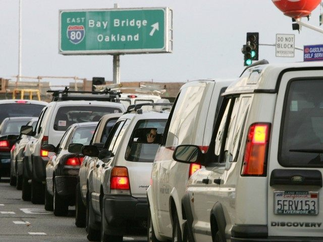 Bay Area Traffic (Justin Sullivan / Getty)