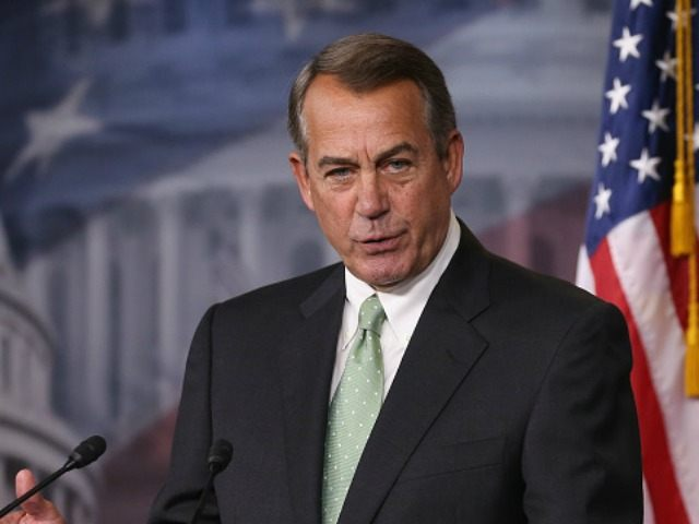 John Boehner on May 21, 2015 in Washington, DC.