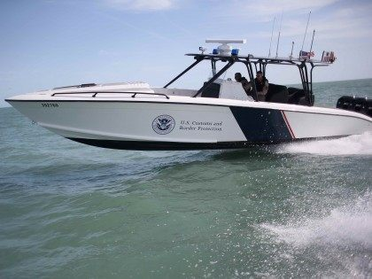 CBP Midnight Express boat (John Moore / Getty)