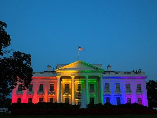 Obama Admin Flaunts Rainbow White House After Same-Sex Marriage Ruling  Breitbart-4520