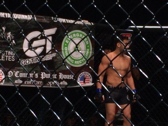 Cage Fighter Sponsor Banner