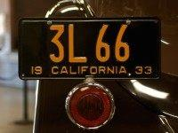 California Black License Plate (Marcin Wichary / Flickr / CC / Cropped)