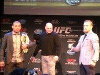 Conor McGregor Jose Aldo Boston
