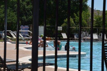 Craig Ranch Pool open for business. (Photo: Breitbart Texas/Bob Price)