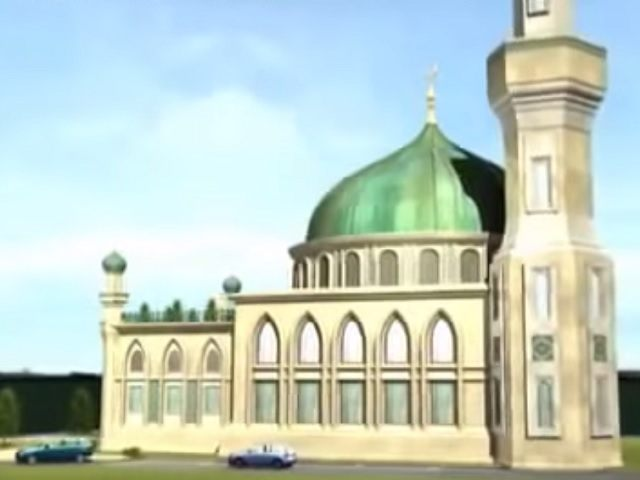 Dudley Mosque CGI
