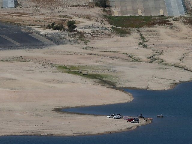 Folsom Lake drought (Justin Sullivan / Getty)