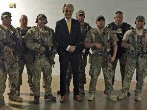Geert Wilders Police Garland Texas