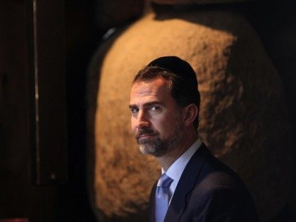 Spain's Crown Prince Felipe de Borbon we