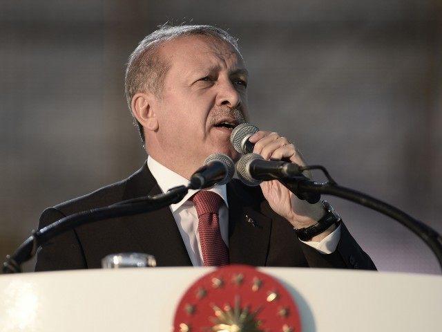 Turkey's Prime Minister, Recep Tayyip Erdogan