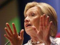 Hillary: 'Absurd,' 'Appalling' GOP Candidates Calling to 'Pull People Out of Their Homes'