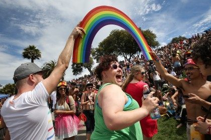 Day After Landmark High Court Ruling Supporting Gay Marriage, Pride Weekend Celebrating In San Franciso