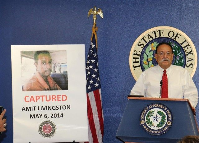 Cameron County DA Luis V. Saenz announces the upcoming extradition of convicted murdered Amit Livingston who had fled to India to avoid justice.