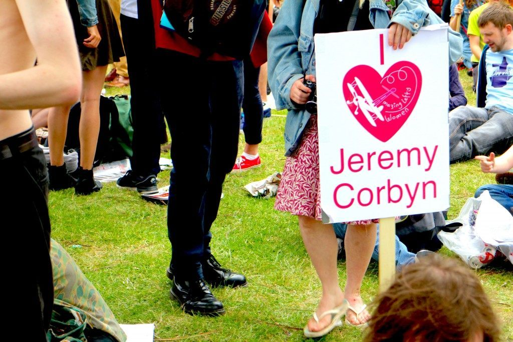 Jeremy Corbyn supporters attended (Raheem Kassam/Breitbart London)