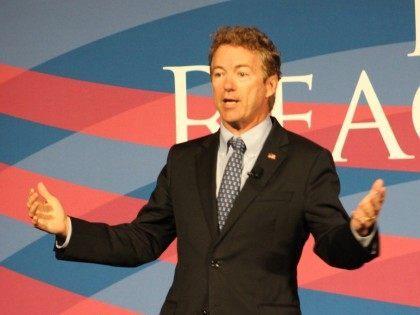Rand Paul in San Diego (Michelle Moons / Breitbart News)