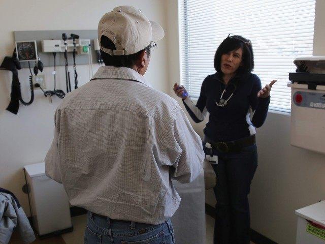 Immigrant Health Care (John Moore / Getty)