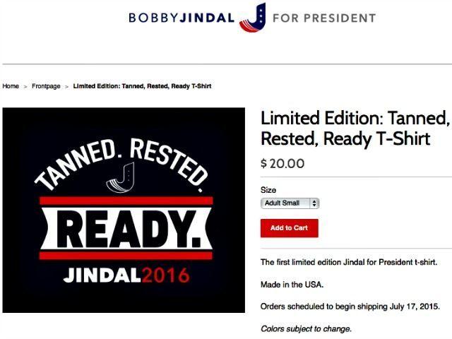 Jindal T-Shirt Jindal for President