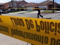 LAPD Crime Scene (Jewel Samad / AFP / Getty)