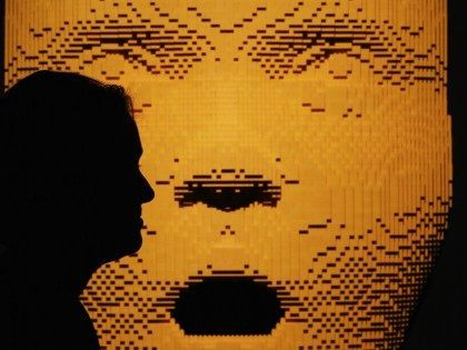 LEGO face (Peter Macdiarmid / Getty)
