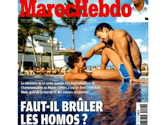 MarocHebdo magazine cover