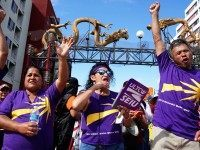 May Day SEIU (Sandy Huffaker / Getty)