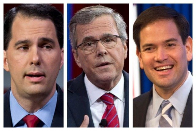 scott walker jeb bush marco rubio