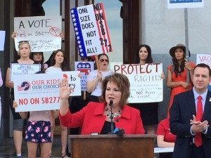 SB277 (Michelle Moons / Breitbart News)