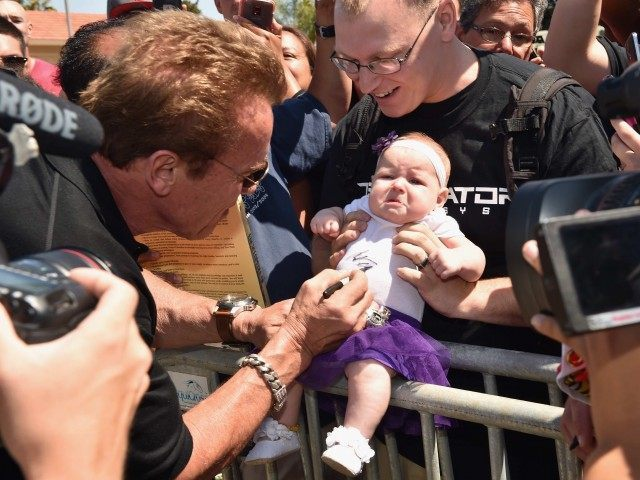 Schwarzenegger (Kevin WInter / Getty)
