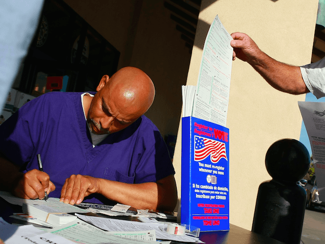 Voter Registration (Justin Sullivan / Getty)
