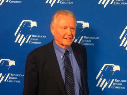Jon Voight, Republican Jewish Coalition (Adelle Nazarian / Breitbart News)