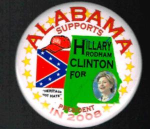 Alabama Confederate flag Hillary Clinton (Screenshot / rocnydeals / eBay)