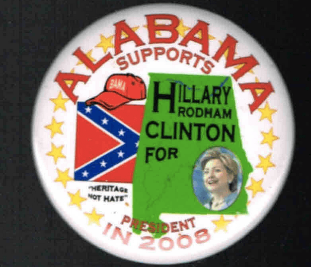 Alabama Confederate flag Hillary Clinton (Screenshot / rocnydeals / eBay)