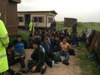 U.S Border Patrol agents arrest 76 illegal immigrants near Texas border