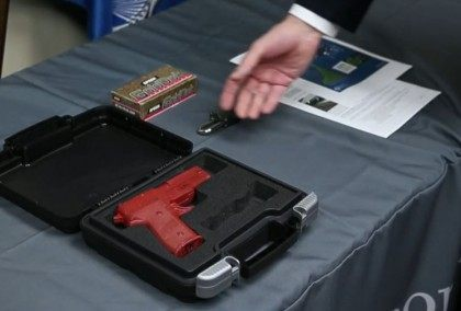 TSA Training Demonstration on Checking a Hangun - Chicage Tribune Video Screenshot