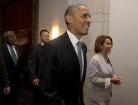 Barack Obama, Nancy Pelosi, James Clyburn
