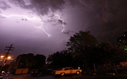 Denver lightning