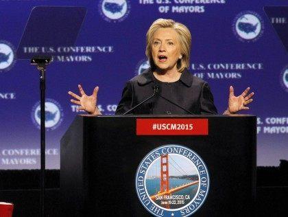 Hillary Rodham Clinton, Kevin Johnson