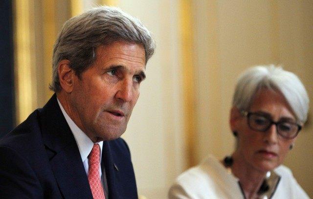 John Kerry Wendy Sherman