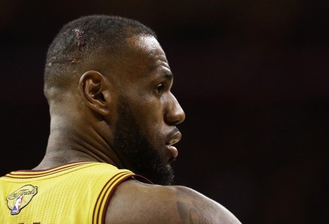 Cameras inadvertently show more of LeBron than anyone ...