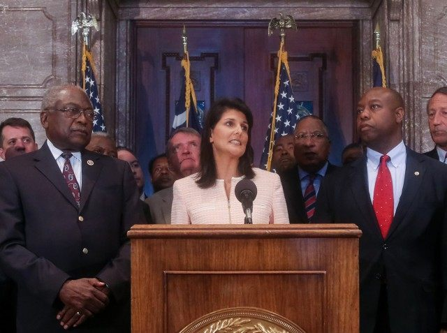 Nikki Haley, James Clyburn, Tim Scott