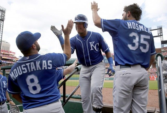 Salvador Perez, Eric Hosmer, Mike Moustakas